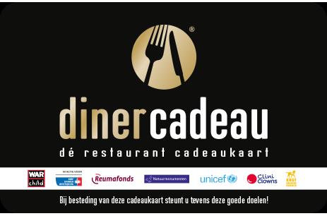 Goede Doelen Diner Cadeau 3000 Restaurants