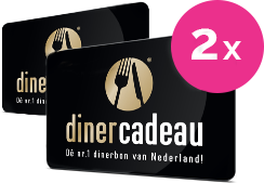 Diner Cadeau Verdubbelaar
