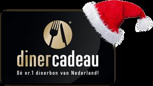 Diner Cadeau als kerstcadeau