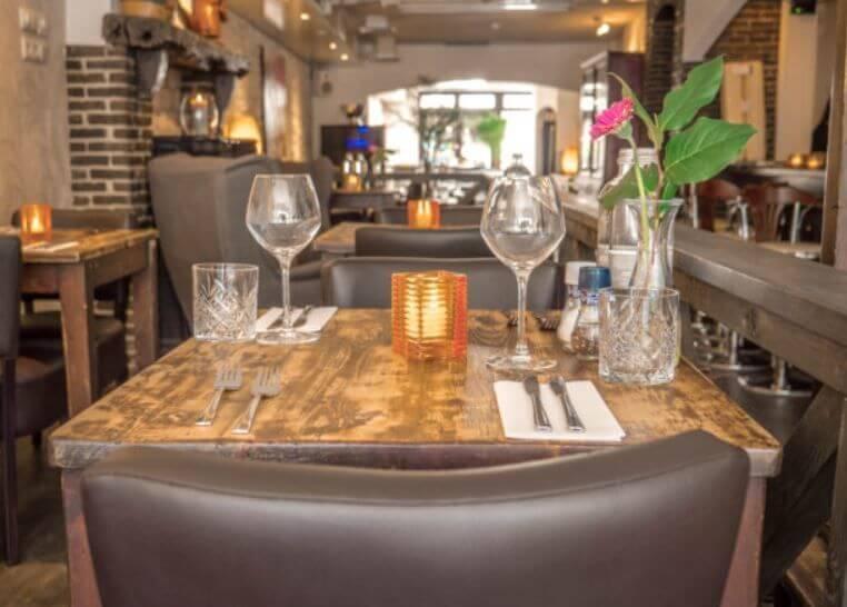 Met de dinerbon eten bij restaurant restaurant bon vivant for Den haag restaurant