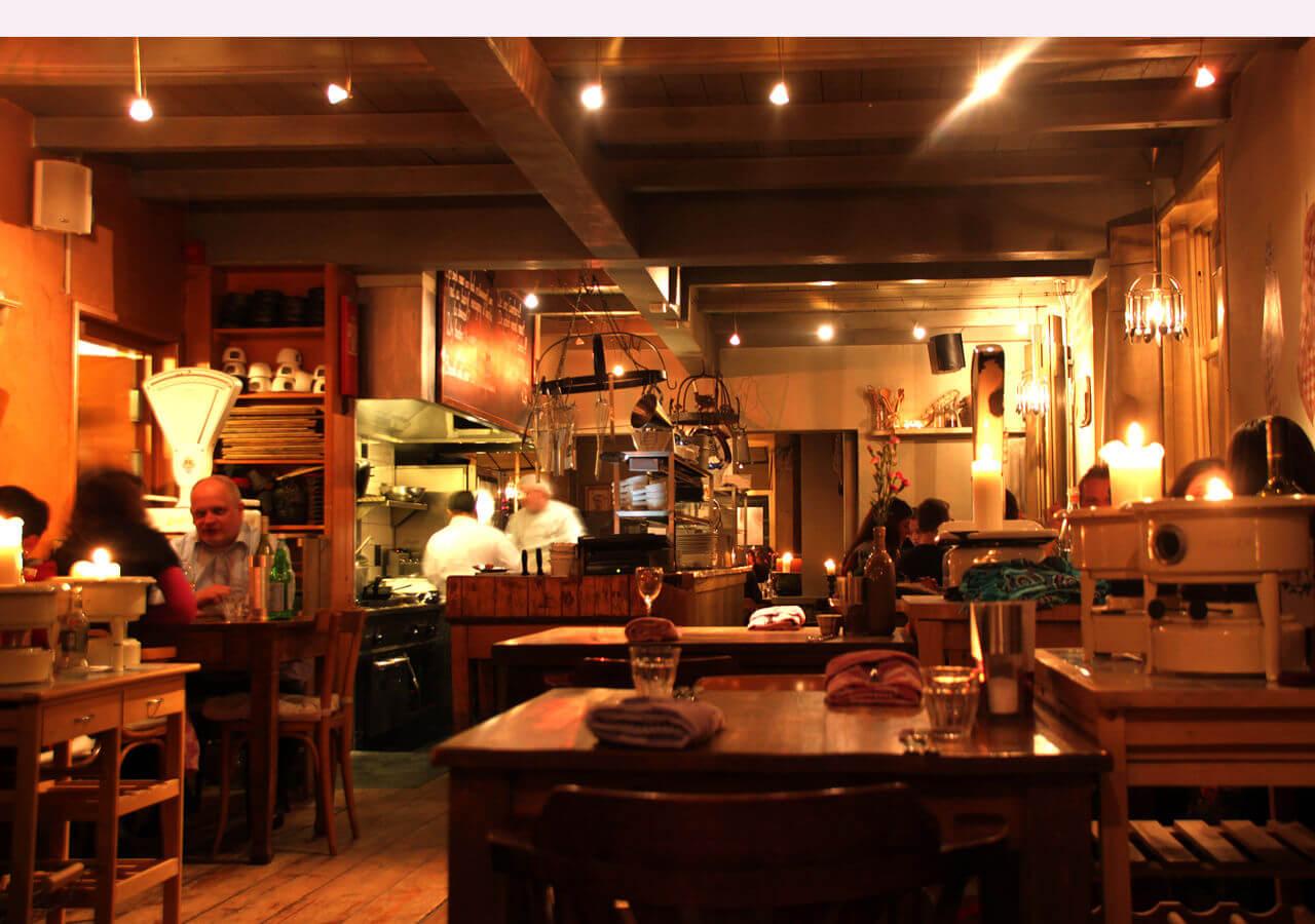 De Open Keuken : Met de dinerbon eten bij restaurant restaurant proeverij de open