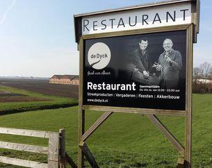 Dinerbon Woubrugge Restaurant de Dyck