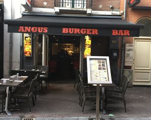 Dinerbon Amsterdam Angus Burger