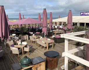 Dinerbon Den Haag Beachclub Twins