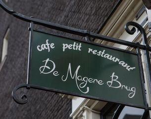 Dinerbon Amsterdam De Magere Brug