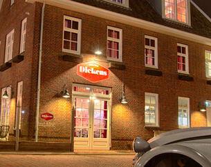 Restaurant Dickens Huizen : Met de dinerbon eten bij restaurant dickens dinerbon