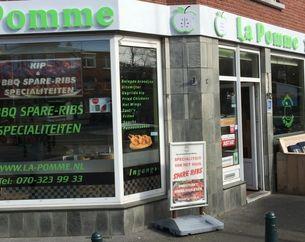 Dinerbon Den Haag La Pomme & 112 Spare Ribs