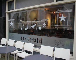 Dinerbon Voorburg Lunchroom Aan de Tafel