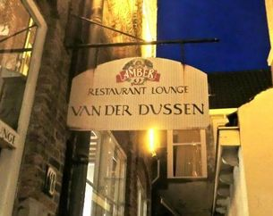 Dinerbon Delft Restaurant van der Dussen